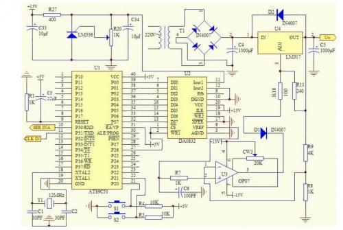 电容降压的5v直流稳压电源,下面这个电源,最大可以提供约55ma电流